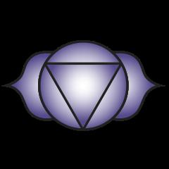 Sixth chakra symbol