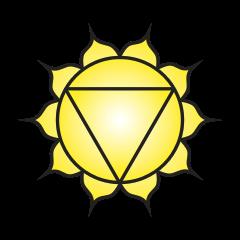 Third chakra symbol