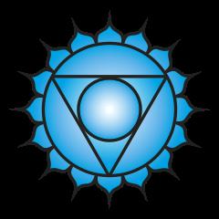 Fifth chakra symbol
