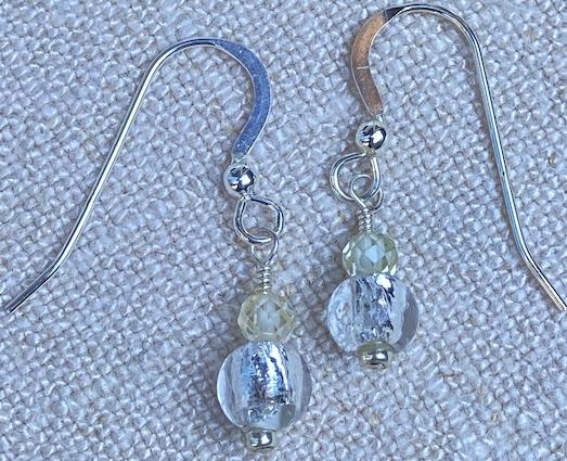 Crystal City earrings
