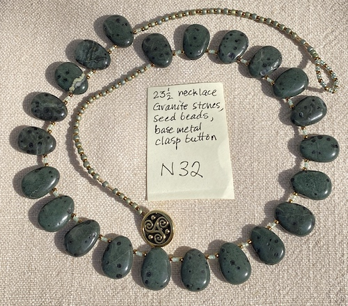 Zion 23.5in necklace