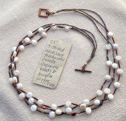 Noshiro 21in necklace