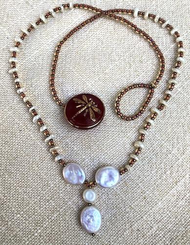 Trio 18in necklace